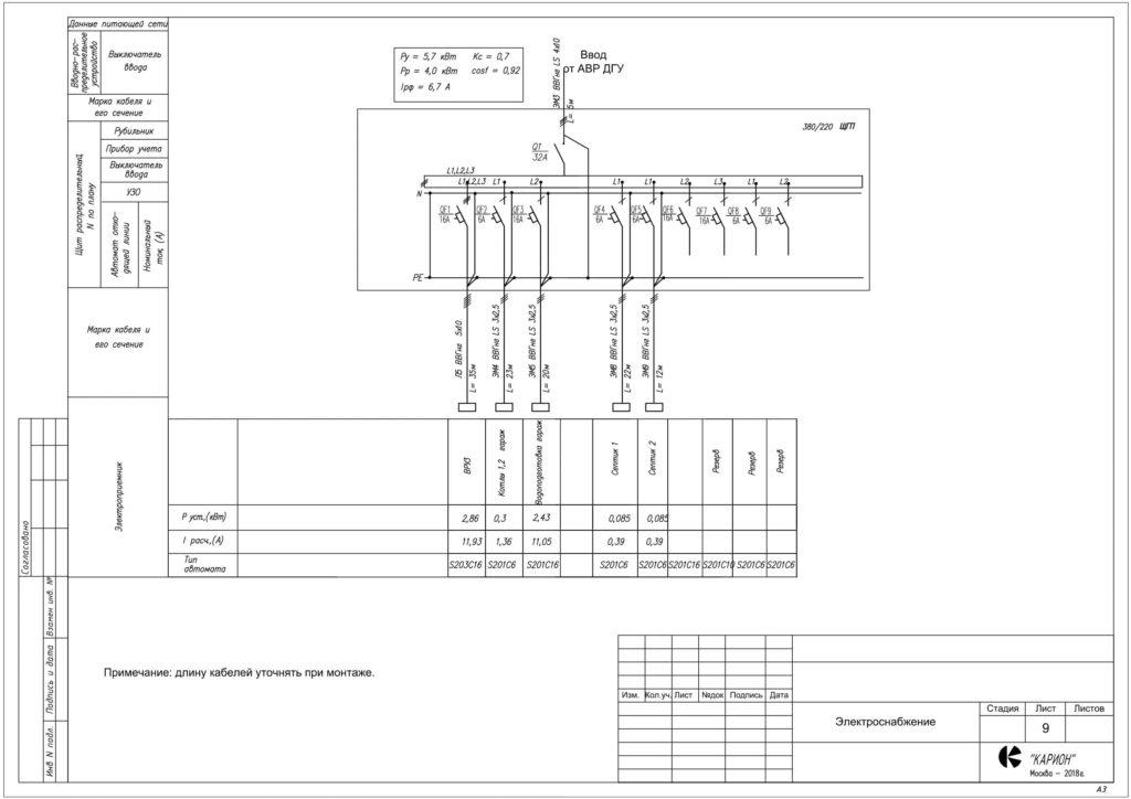Электрика Лист 9-min
